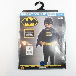 3/$30 DC Batman Toddler Child Costume 1-2 Years